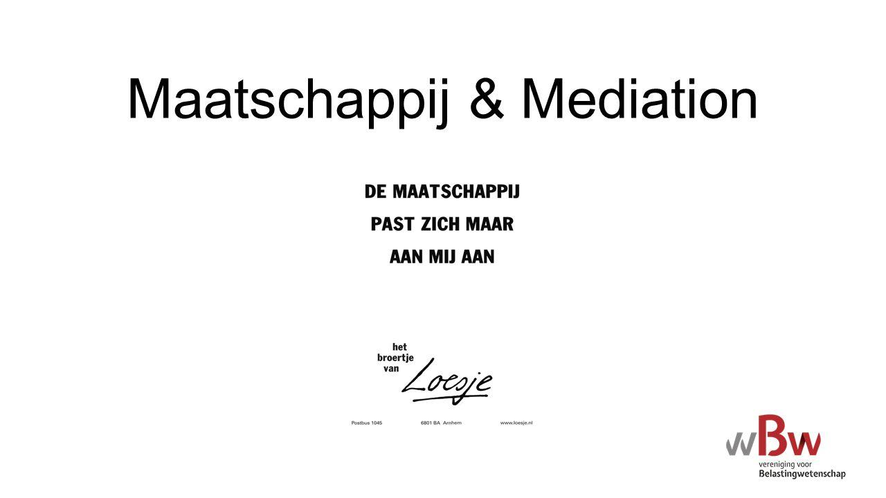 Mediation & Belastingrecht