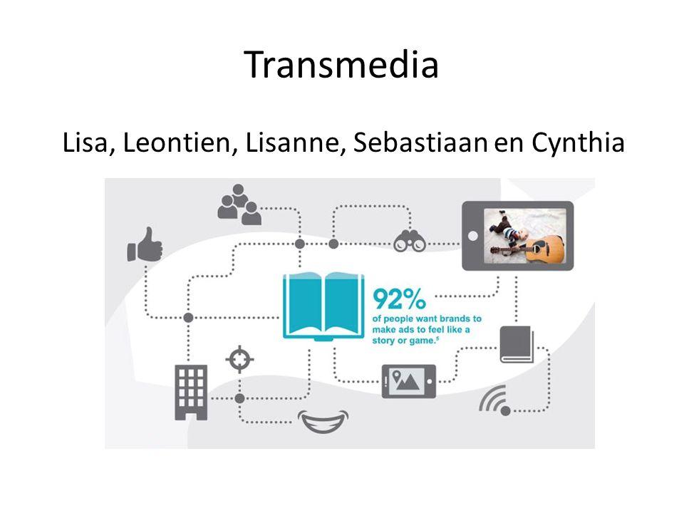 Transmedia Lisa, Leontien, Lisanne, Sebastiaan en Cynthia