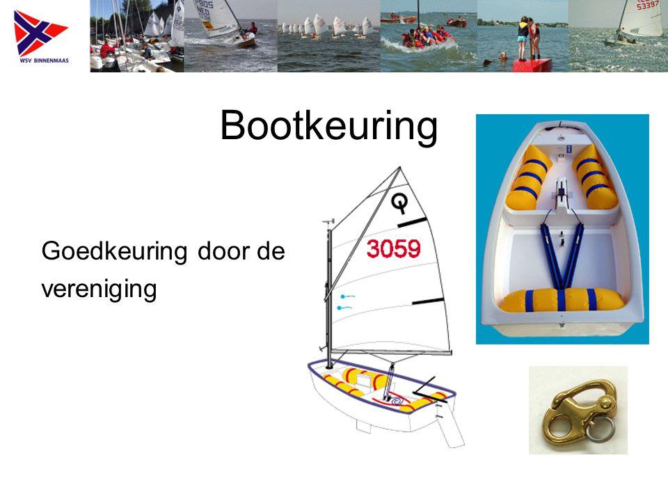 Bootkeuring Goedkeuring door de vereniging