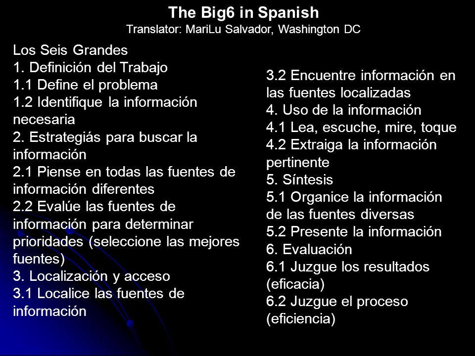 Los Seis Grandes 1.