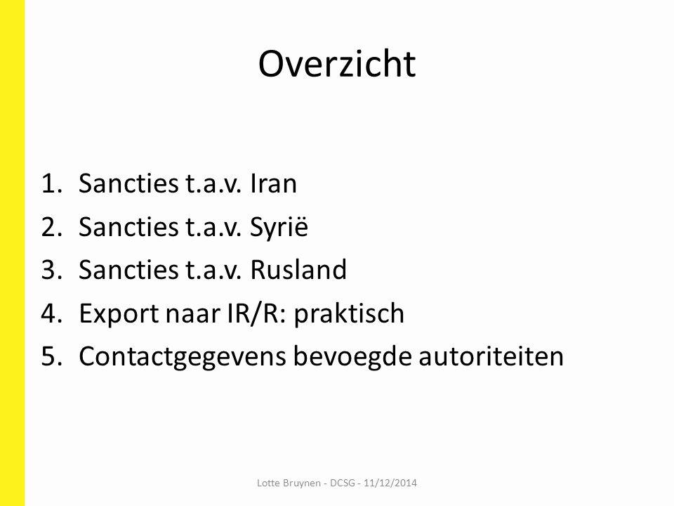 1.Sancties t.a.v.