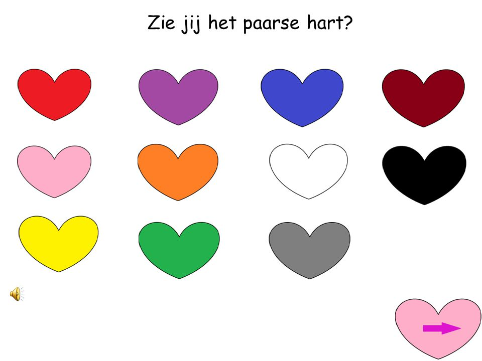 Zie jij het blauwe hart?