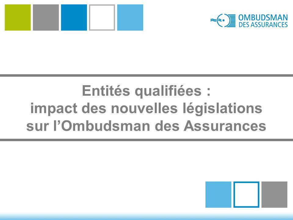 Entités qualifiées : impact des nouvelles législations sur l'Ombudsman des Assurances
