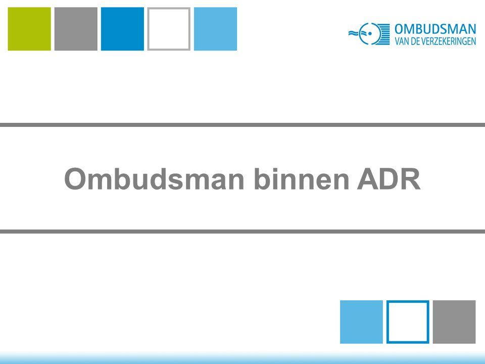 Ombudsman binnen ADR