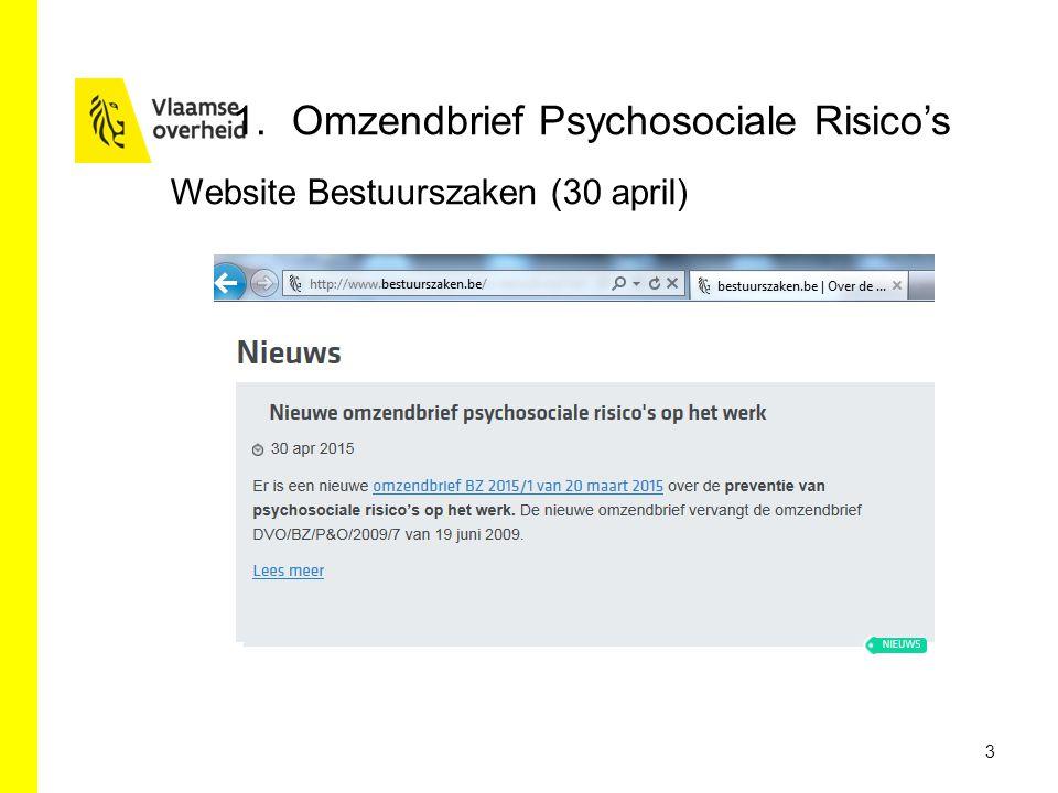 3 1.Omzendbrief Psychosociale Risico's Website Bestuurszaken (30 april)