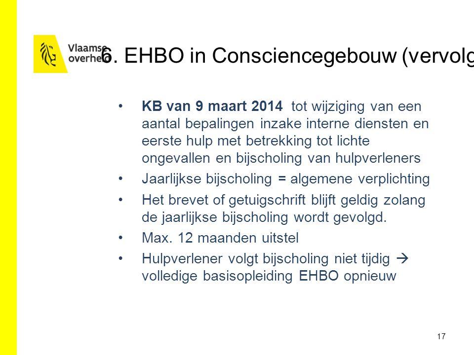 KB van 9 maart 2014 tot wijziging van een aantal bepalingen inzake interne diensten en eerste hulp met betrekking tot lichte ongevallen en bijscholing
