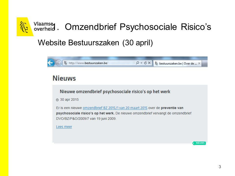 3 1.Omzendbrief Psychosociale Risico's Website Bestuurszaken (30 april)