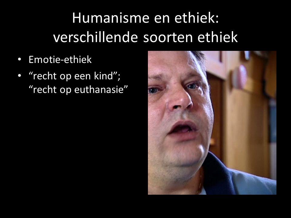 Humanisme en ethiek: verschillende soorten ethiek Statistische ethiek iedereen doet het, dus… Gevaarlijk gevoel van objectiviteit