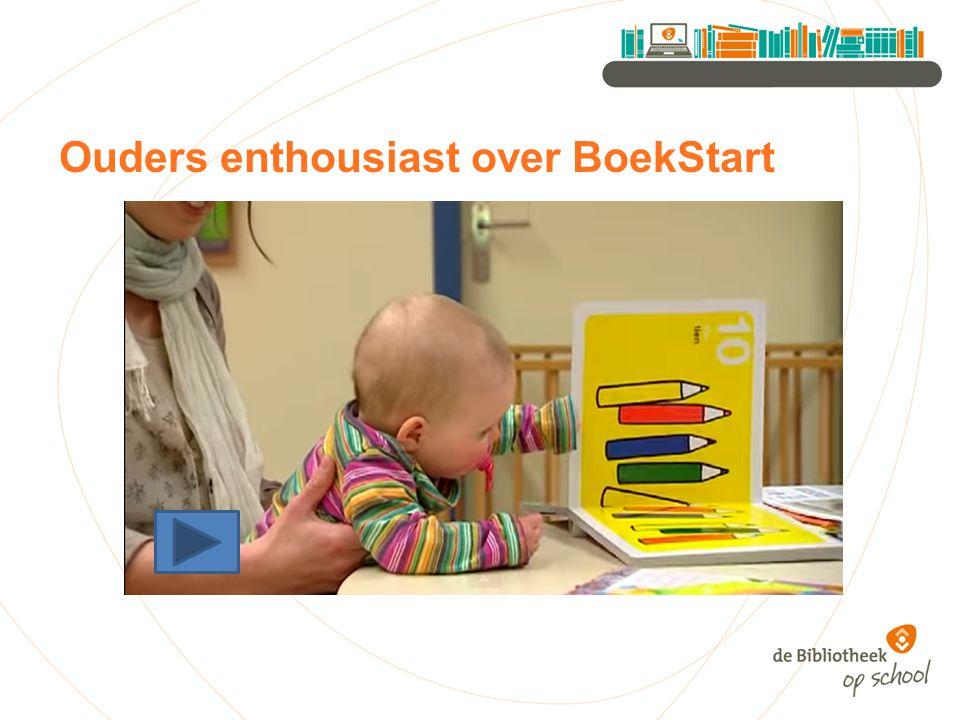 Ouders enthousiast over BoekStart