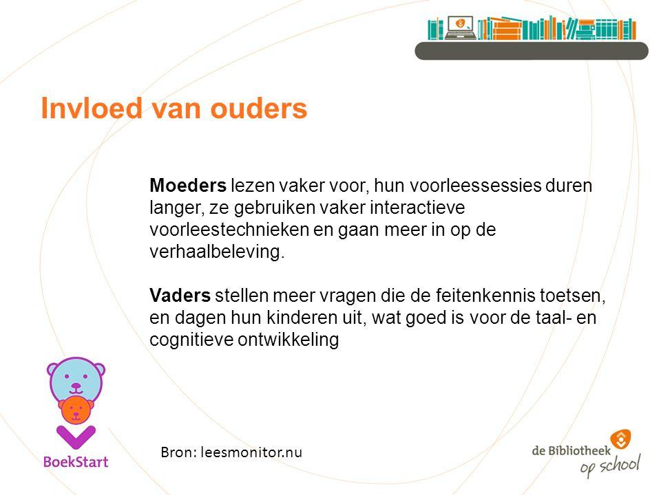 Monitor de bibliotheek op school 2014 Praten over boeken
