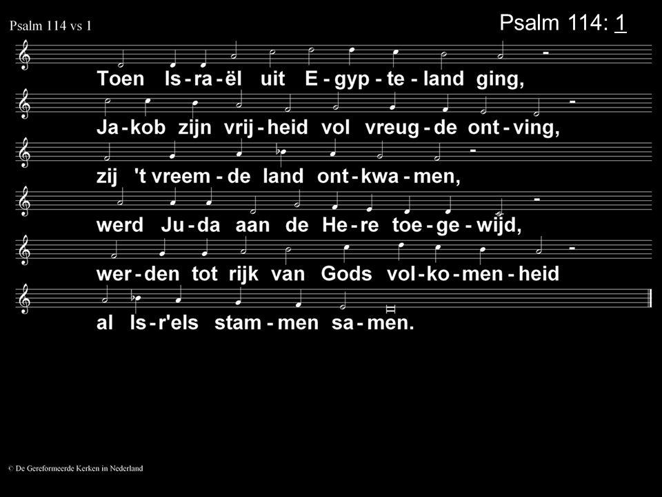 Psalm 114: 1