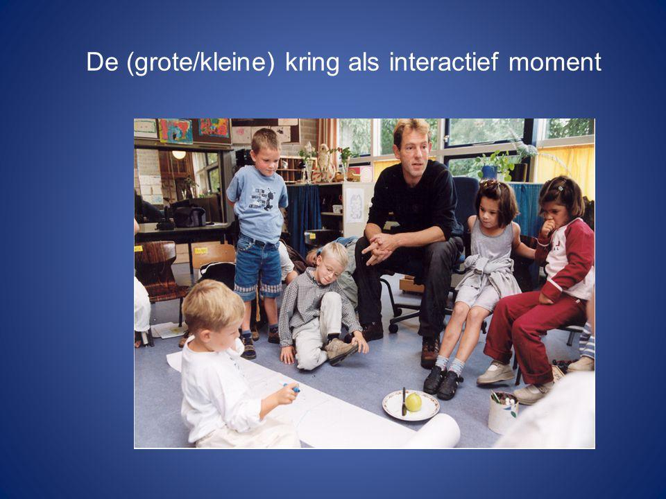 De (grote/kleine) kring als interactief moment