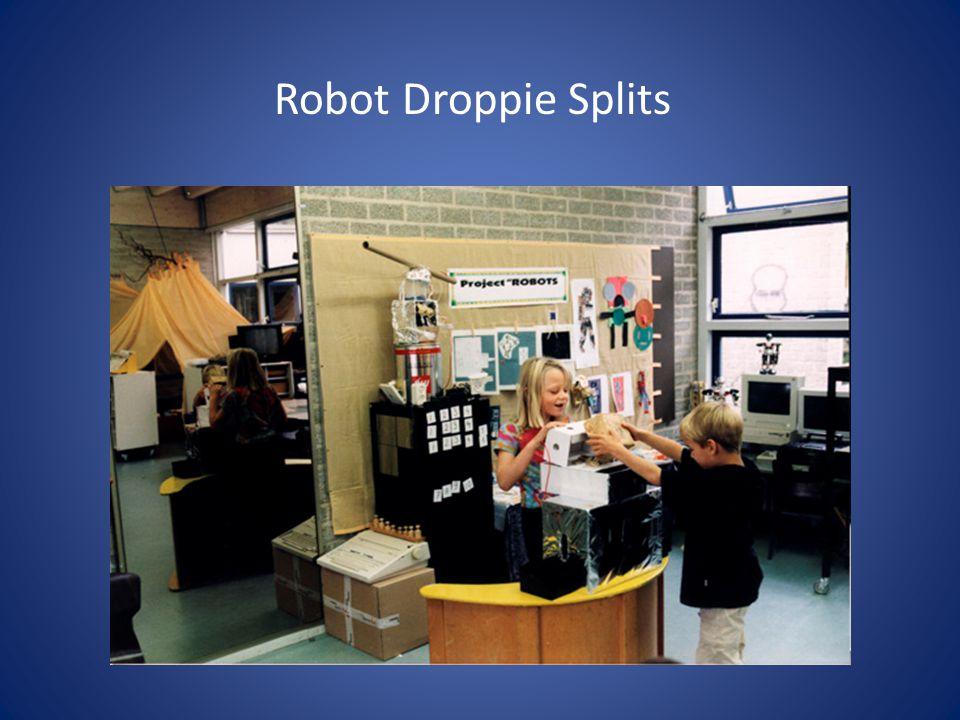 Robot Droppie Splits