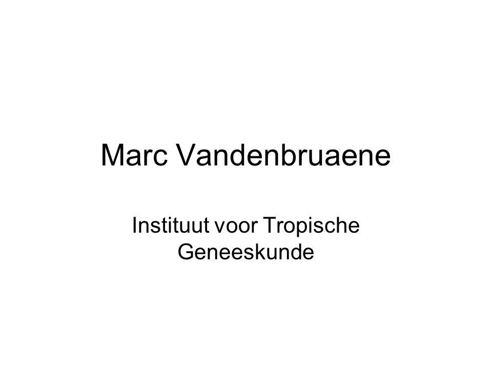 Marc Vandenbruaene Instituut voor Tropische Geneeskunde