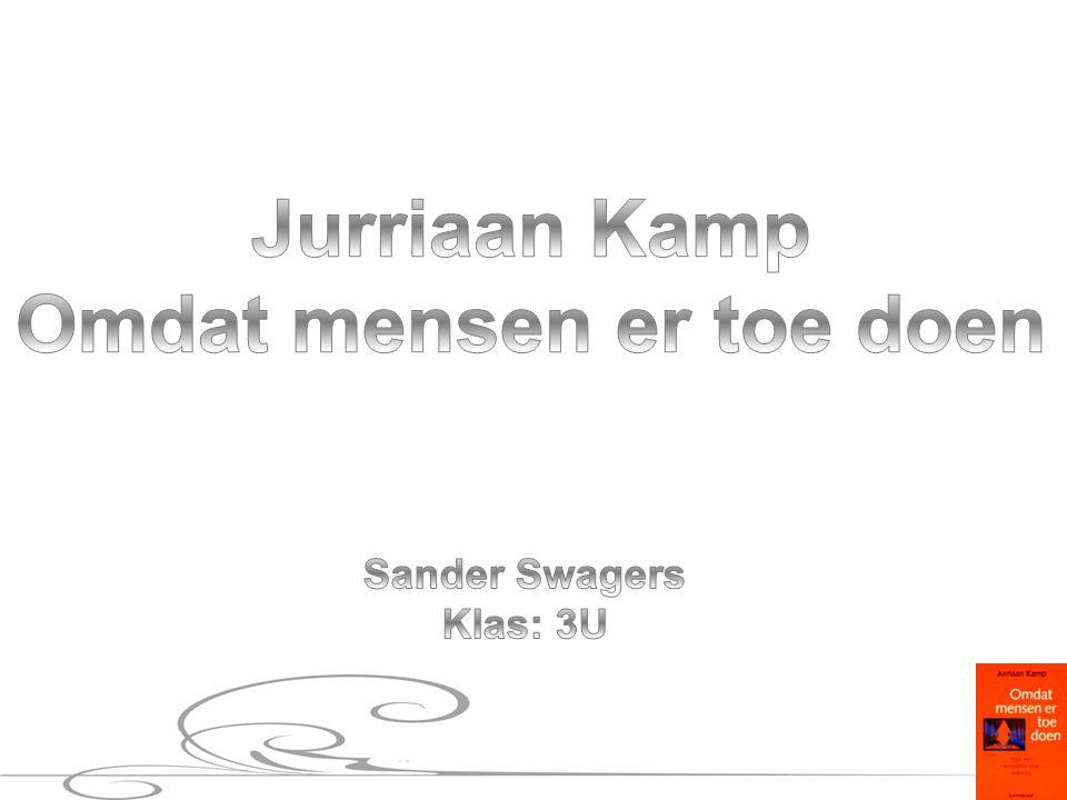 Jurriaan Kamp Chef van de economieredactie NRC Handelsblad Oprichter, hoofdredacteur opinietijdschrift Ode