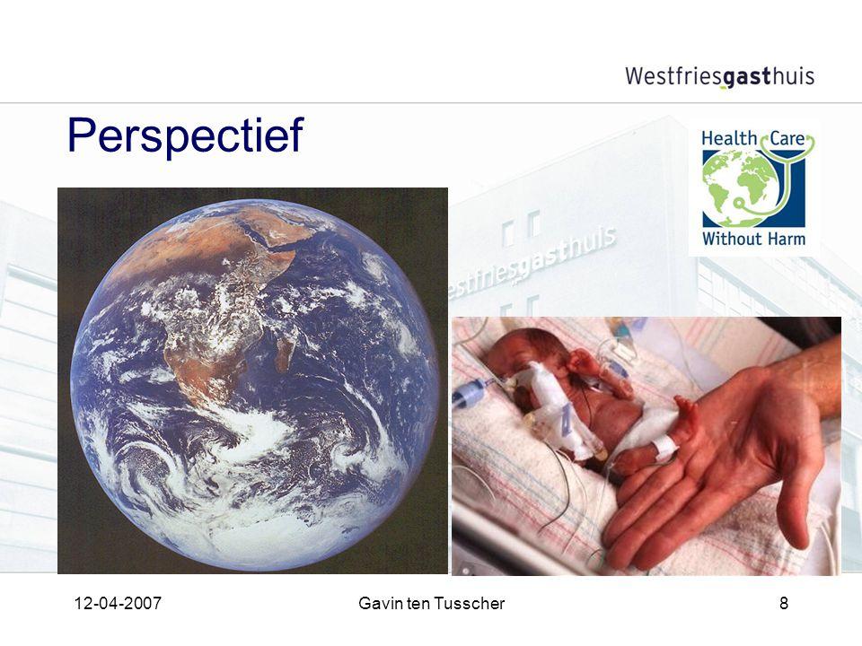 12-04-2007Gavin ten Tusscher8 Perspectief