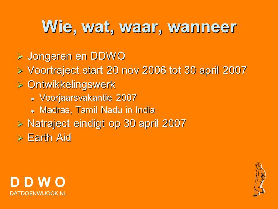 Ondertekening convenant  Jongeren  Transvaalcollege  Wethouder  De ouders/verzorgens van de jongeren  Politie Haaglanden  Dat Doen Wij Ook D D W
