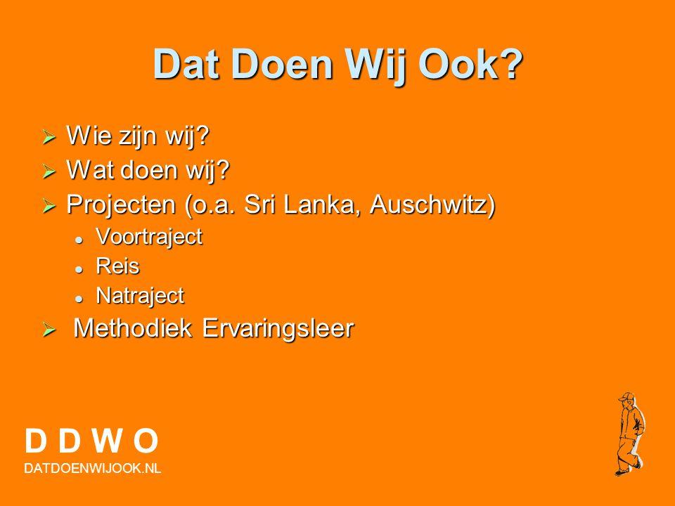 Raymond van Bohemen Projectleider DDWO D D W O DATDOENWIJOOK.NL