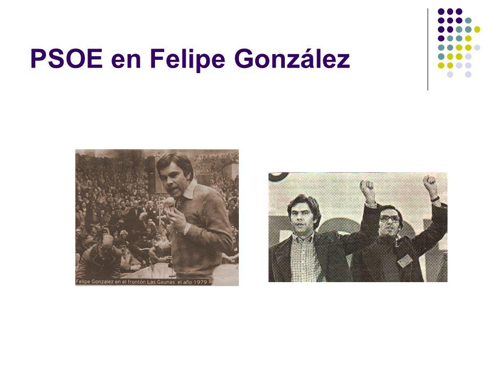 PSOE en Felipe González