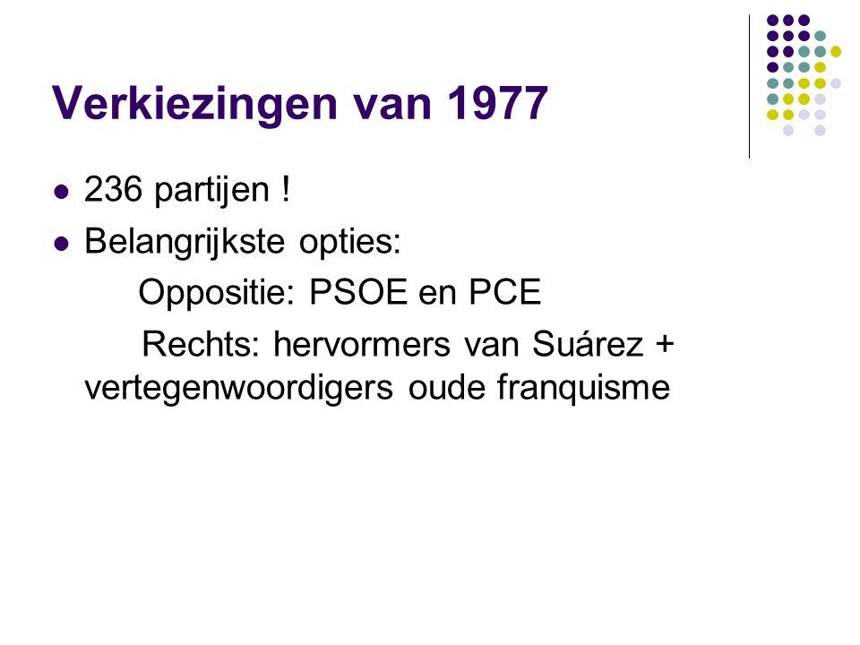 Verkiezingen van 1977 236 partijen .