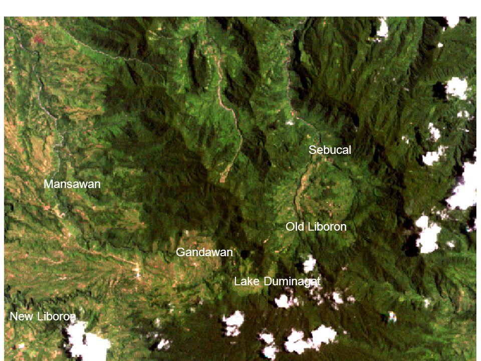 Mansawan Gandawan Lake Duminagat Old Liboron Sebucal New Liboron