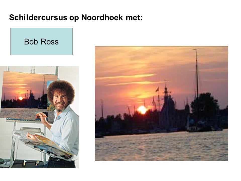 Bob Ross Schildercursus op Noordhoek met: