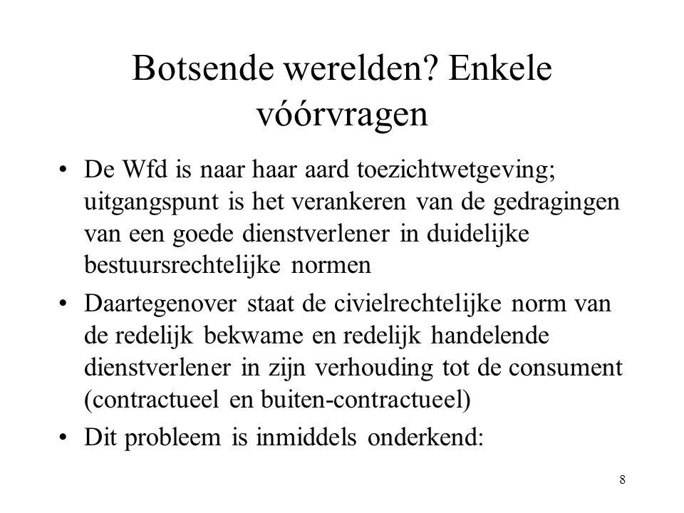 109 Verplichte precontractuele informatie Bij krediet (niet hypothecair): art.
