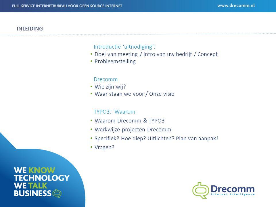 ONZE CASES ECOMARE Sponsors zoeken Informatie aanbieden van onderzoeken & kennis Progamma tonen + inschrijven Informatief Interacties extranet Blog & Social media