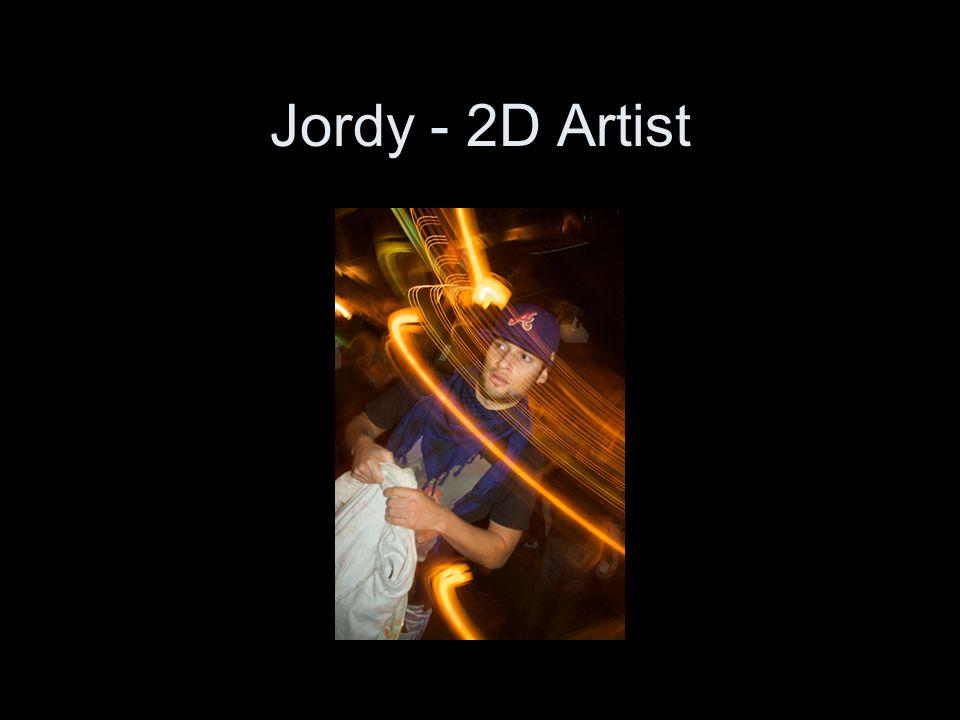 Jordy - 2D Artist