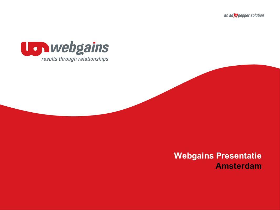 Webgains Presentatie Amsterdam