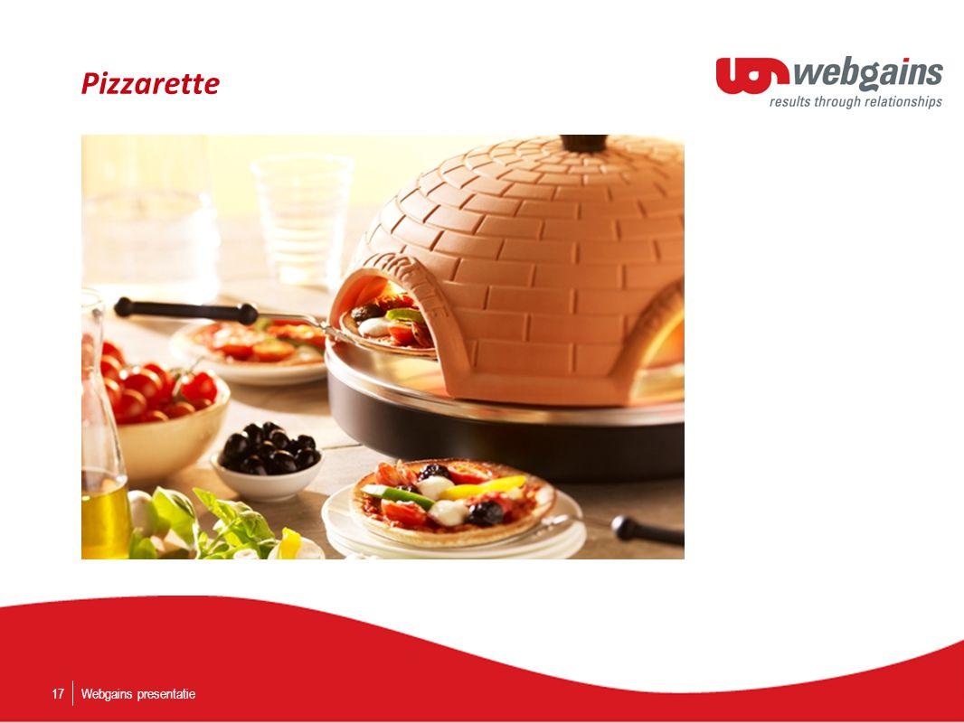 Pizzarette Webgains presentatie17