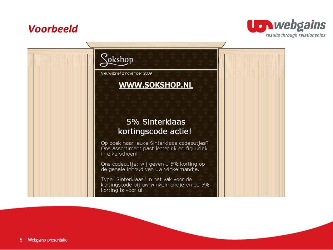 Voorbeeld Webgains presentatie5