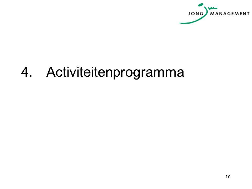 4.Activiteitenprogramma 16