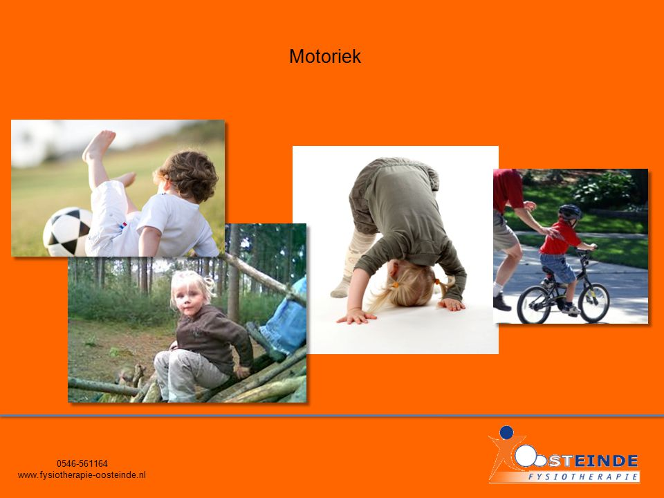 0546-561164 www.fysiotherapie-oosteinde.nl Motoriek