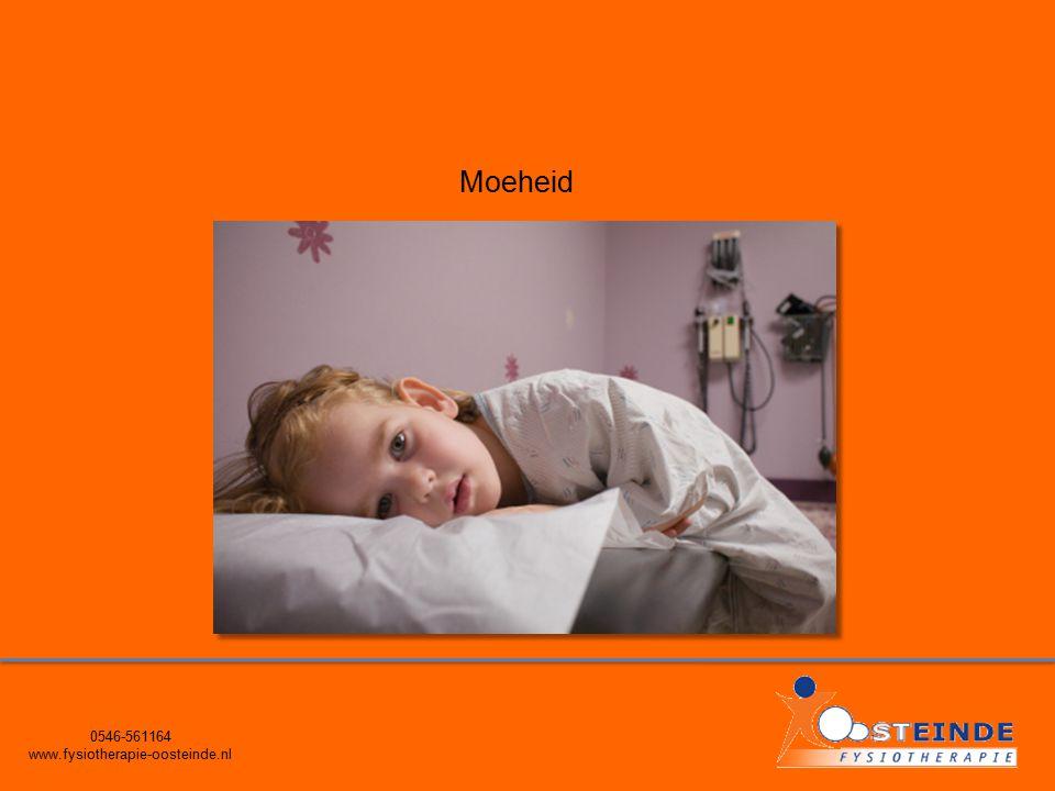 0546-561164 www.fysiotherapie-oosteinde.nl Moeheid