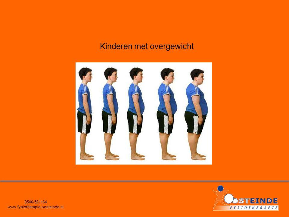 0546-561164 www.fysiotherapie-oosteinde.nl Kinderen met overgewicht