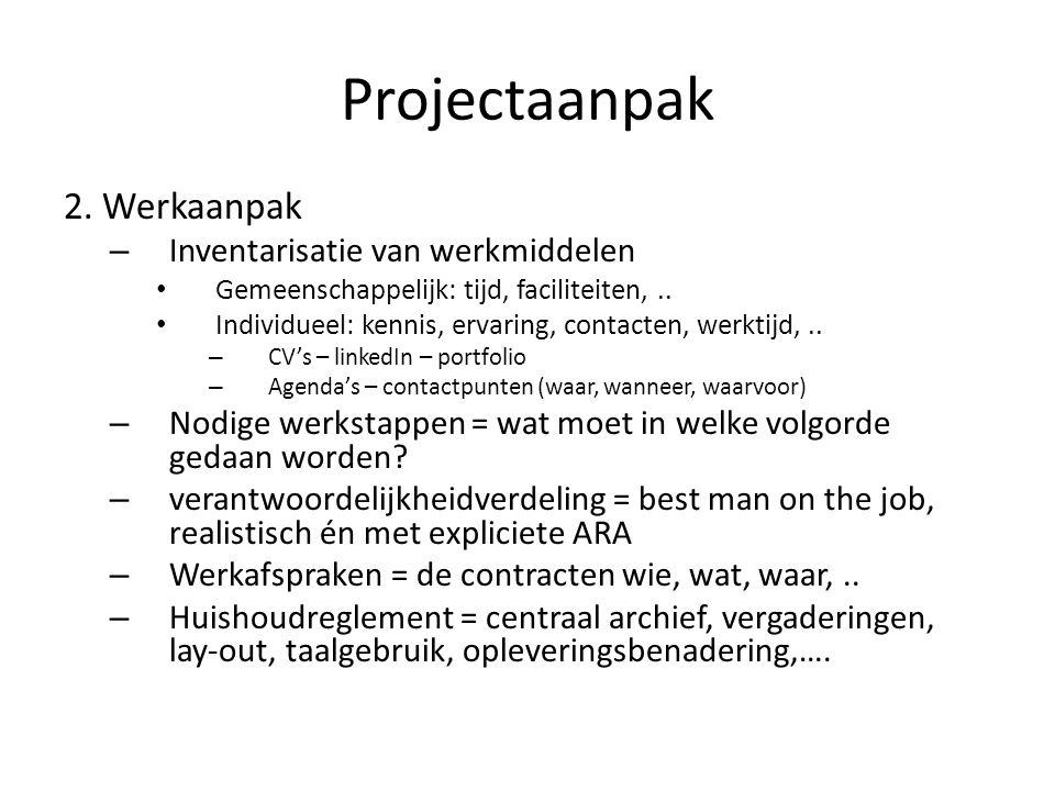 Projectaanpak 2.