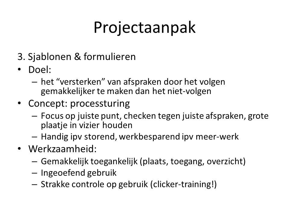 Projectaanpak 3.