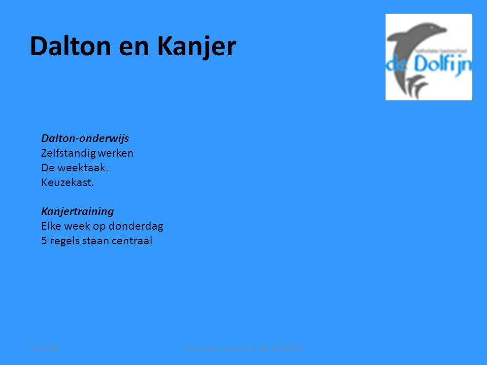 Dalton-onderwijs Zelfstandig werken De weektaak. Keuzekast.