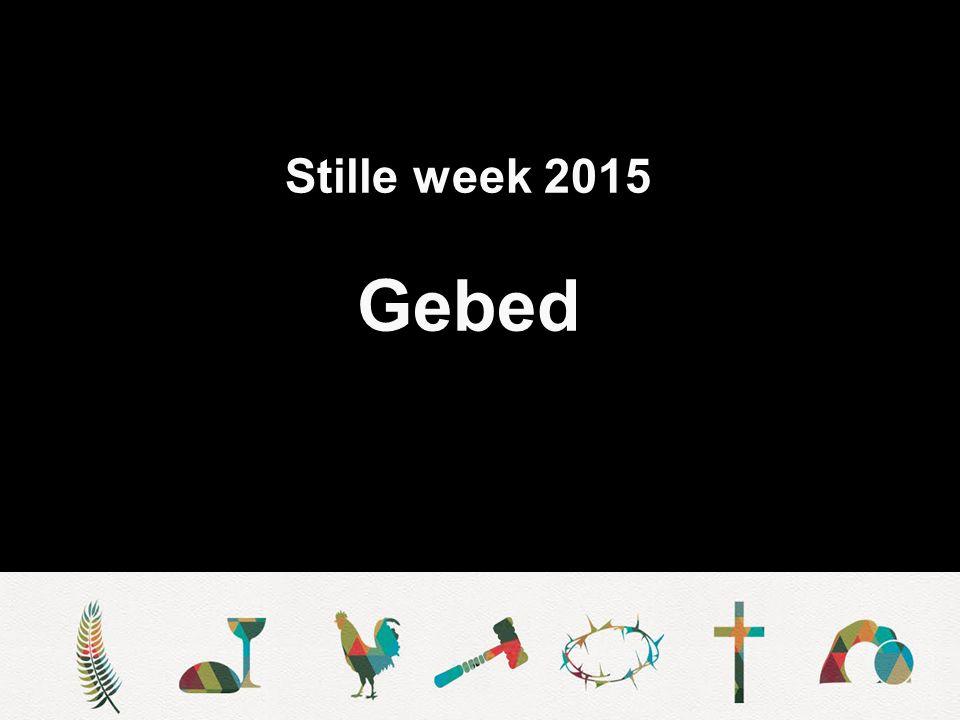 Stille week 2015 Zegen