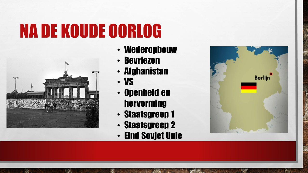 NAVO & WARSCHAUPACT NAVO: 1949 Warschaupact: 1955 Tegenhanger NAVO