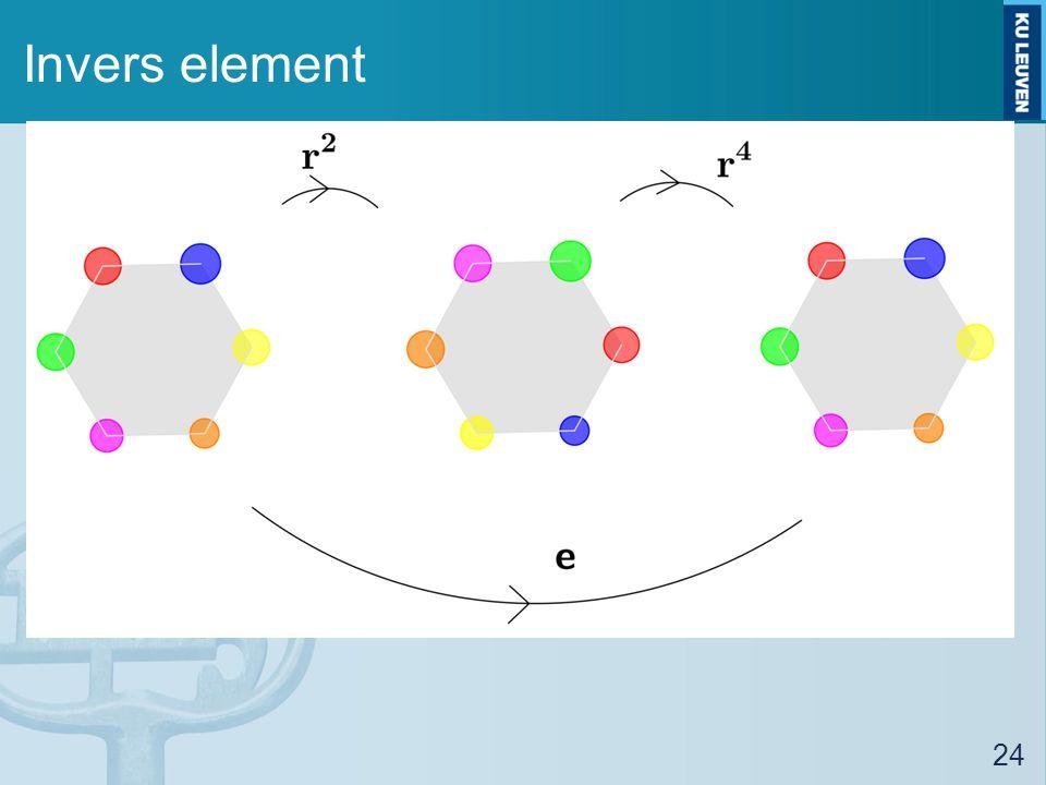Invers element 24