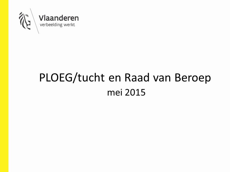 PLOEG/tucht en Raad van Beroep mei 2015
