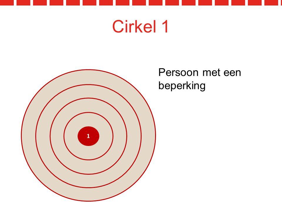 Cirkel 1 1 Persoon met een beperking