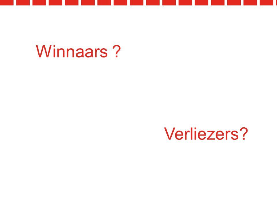 Verliezers? Winnaars ?