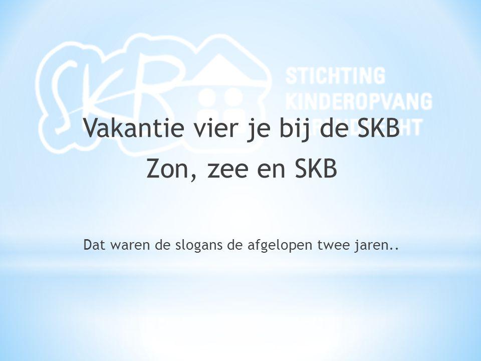 Vakantie vier je bij de SKB Zon, zee en SKB Dat waren de slogans de afgelopen twee jaren..