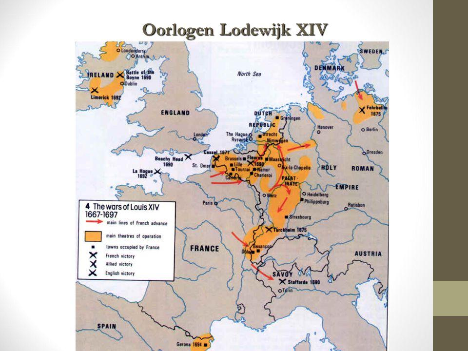 Oorlogen Lodewijk XIV