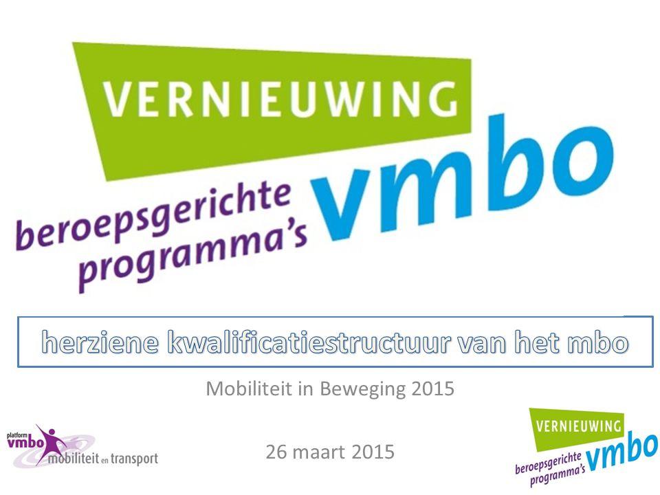 Mobiliteit in Beweging 2015 26 maart 2015