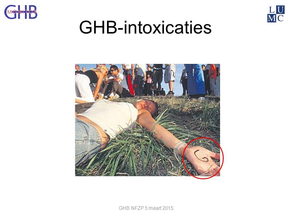GHB-intoxicaties GHB NFZP 5 maart 2015
