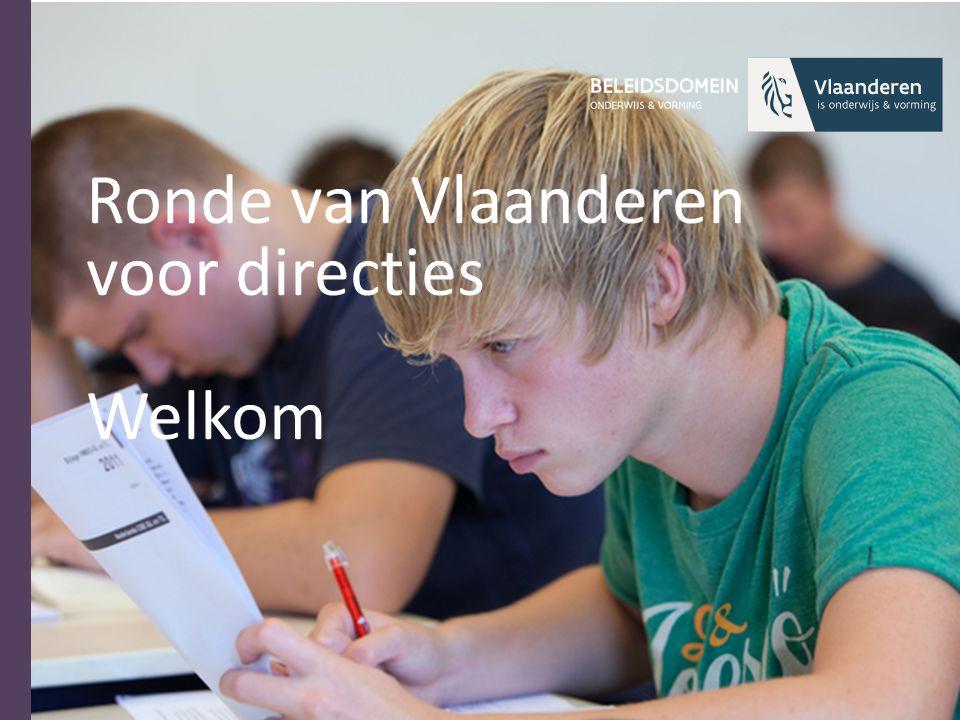 Ronde van Vlaanderen voor directies Welkom